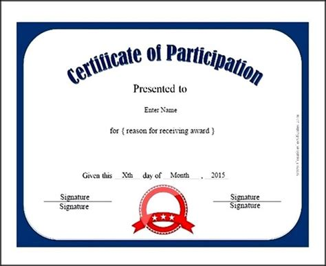 sle certificate of participation template symposium certificate templates 28 images svce