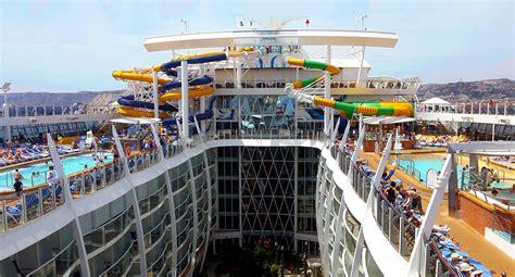 interno nave da crociera le 10 navi da crociera pi 249 grandi mondo port