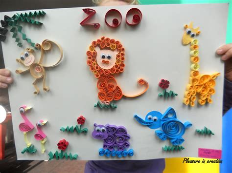 Animal Paper Crafts - paper animal crafts paper crafts