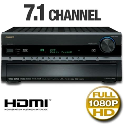 onkyo tx sr876 7 1 channel home theater receiver 1080p