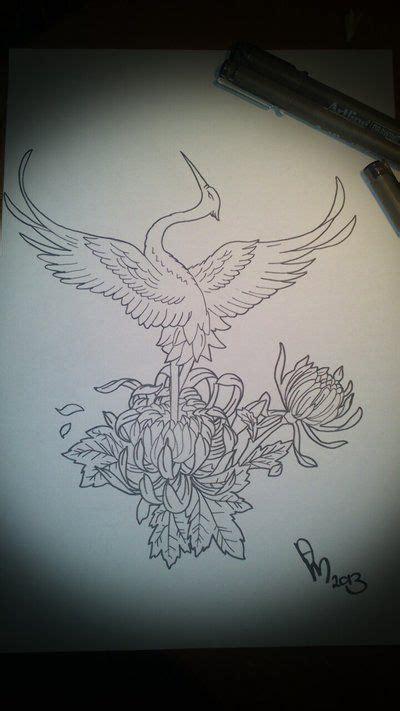 japanese crane tattoo japanese crane idea s crane