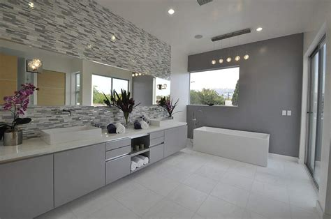 Modern Contemporary Bathroom by Awesome Modern Vanity Lights Led Vanity Lighting