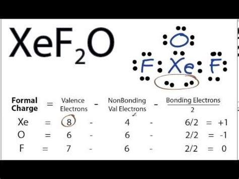 XeF2O Lewis Structure - How to Draw the Lewis Structure ... Xef3 Molecular Geometry