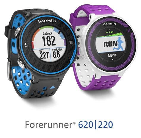 garmin forerunner 620 and 220 gps previews the