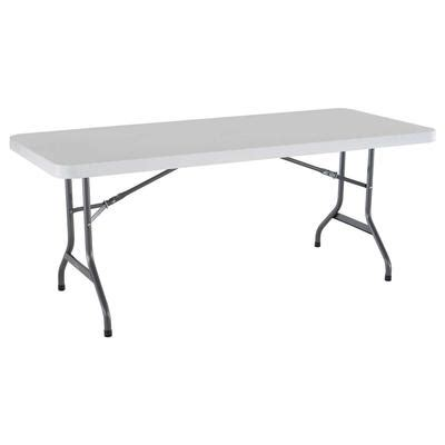 lifetime products plastic folding banquet table 6