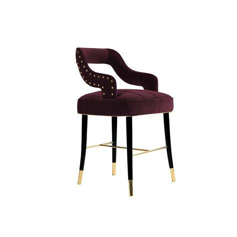 velvet dining chair designer chair swanky interiors