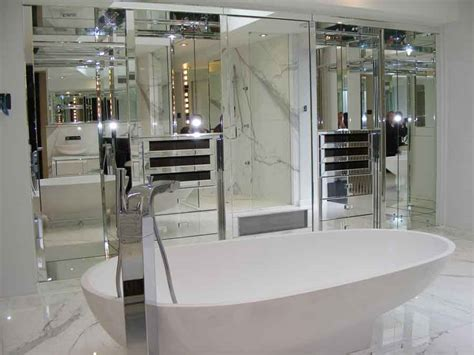 mirrored bathroom walls wall mirrors not just for selfies homes direct 365