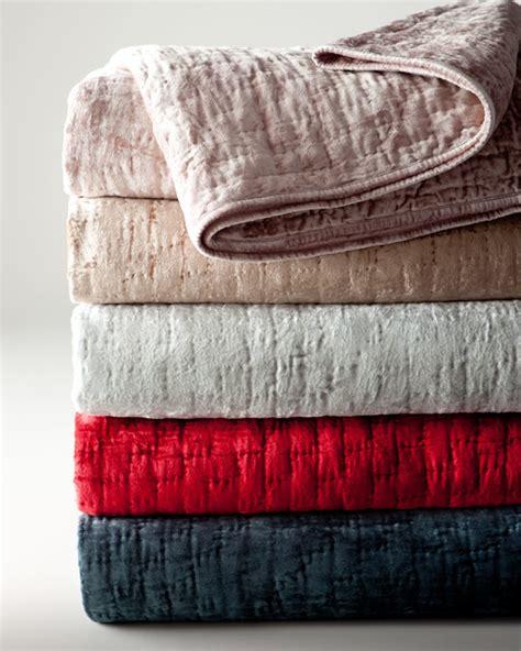 Velvet Patchwork Quilt King - king matte velvet quilt 96 quot x 110 quot contemporary quilts
