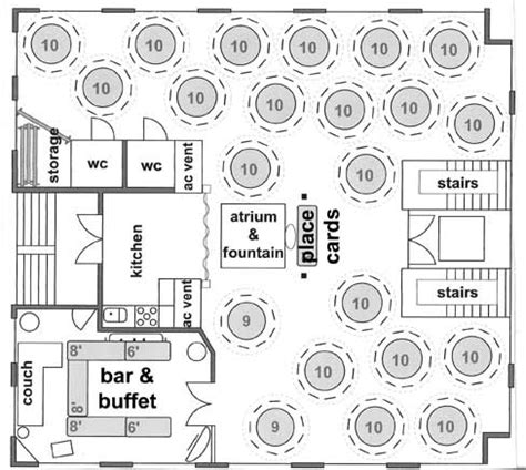 wedding floor plans sle floor plans and room setup ideas to create your own