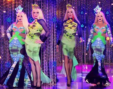 Detox Runway Looks by Rpdr All Season 2 Episode 7 Family That Drags