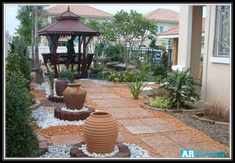No Grass Landscaping Ideas Triyae Backyard Landscaping Ideas No Grass Various Design Inspiration For Backyard