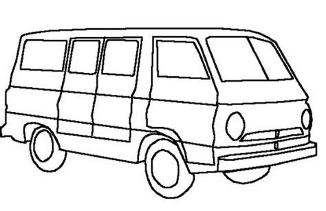 coloring page of a van van coloring pages 5