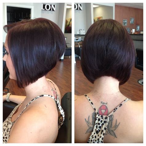 how to cut hair so it stacks 1000 ideas about stacked bobs on pinterest brandy from