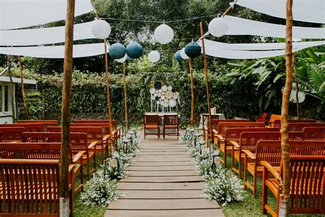 Outdoor Wedding In Bandung by A Constellation Inspired Outdoor Wedding In Bandung
