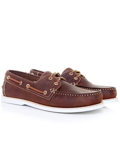 boat shoes joules cobello brown leather vintage boat shoes jules b