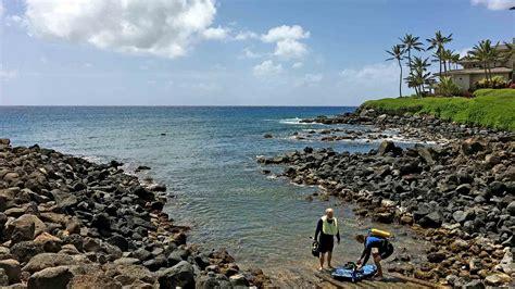 koloa landing popular for kauai snorkeling and diving - Koloa Boat Landing