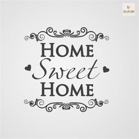 home sweet home muursjablonen en muurstickers op jouw muur