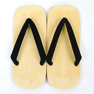 japanese mens kimono zori geta setuta sandals new black