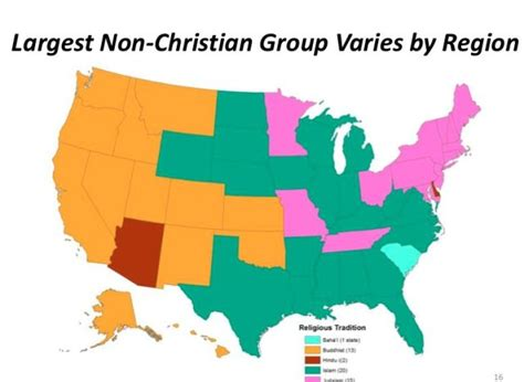 most and least religious cities most and least muslim states in america photos huffpost
