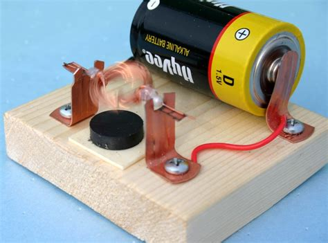 Electric Motor Experiment by Building And Improving A Simple Electric Motor Http Www