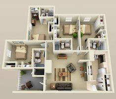 home design 3d troubleshooting 25 more 3 bedroom 3d floor plans home pinterest