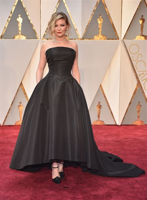 kirsten dunsts  oscars dress
