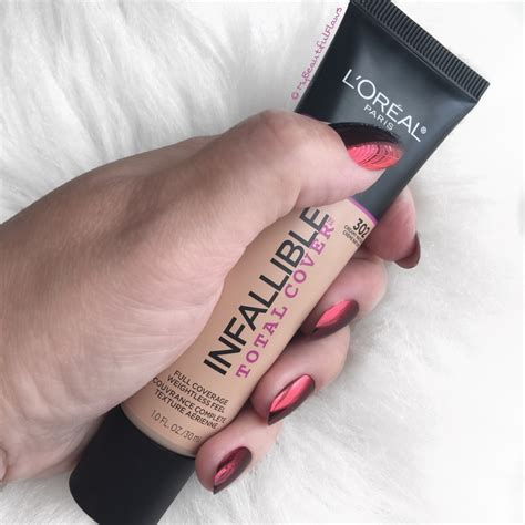 Loreal Total Cover Foundation review l oreal infallible total cover foundation my beautiful flaws