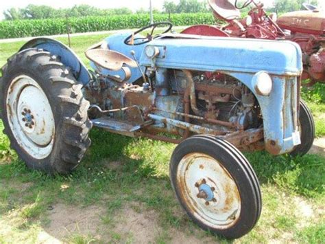 salvaged ford 8n tractor for used parts eq 20594 all