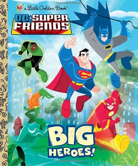 the flash dc friends golden book books golden books dc friends big heroes what
