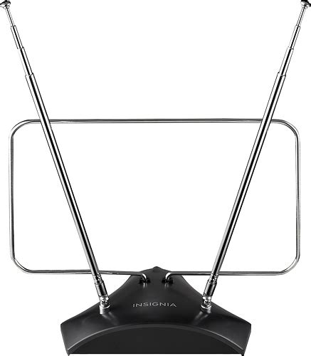 hdtv antenna and cable together insignia indoor hdtv antenna black ns ant314 best buy