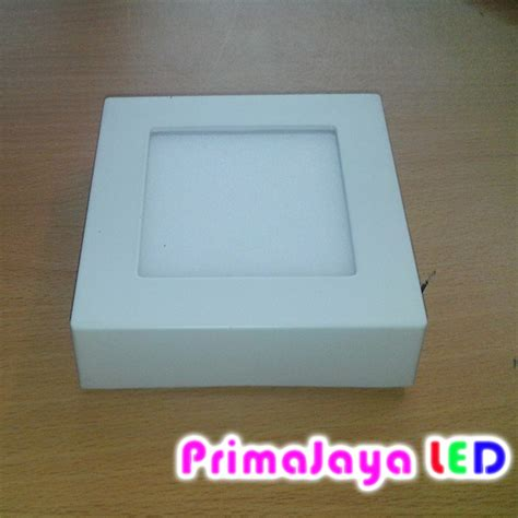 Downlight Led 1 Mata Kotak Cahaya Kuning Model Minimalis ceiling downlight outbo