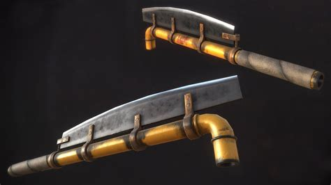 pin by apocalypse on weaponry artstation post apocalyptic weapons marius popa 3d