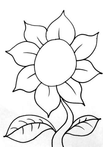 Download 15+ Gambar Mewarnai Bunga Berbagai Jenis, Mudah!