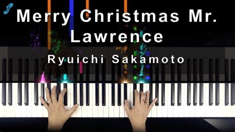 merry christmas  lawrence piano sheet  easy