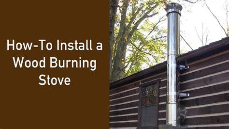 installing a wood burning fireplace
