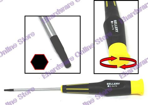 Sellery 6 Wire Pliers Murah sellery hex key precision screwdriver 2 5mm