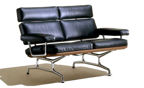 eames couch eames 174 2 seat sofa hivemodern com