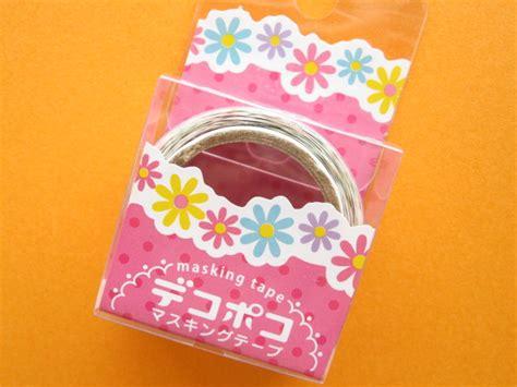 Mini Masking Flower mini masking deco sticker decopoko flower mdt02 14 kawaii shop japan