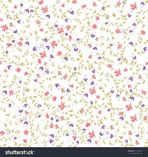 flower pattern on white background seamless floral pattern tiny flowers on stock vector