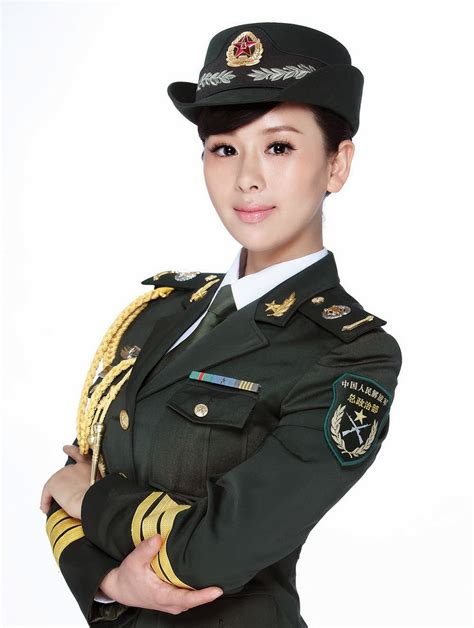 chinese military uniform girl the uniform girls pic chinese china female military