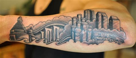 image gallery houston skyline tattoos designs