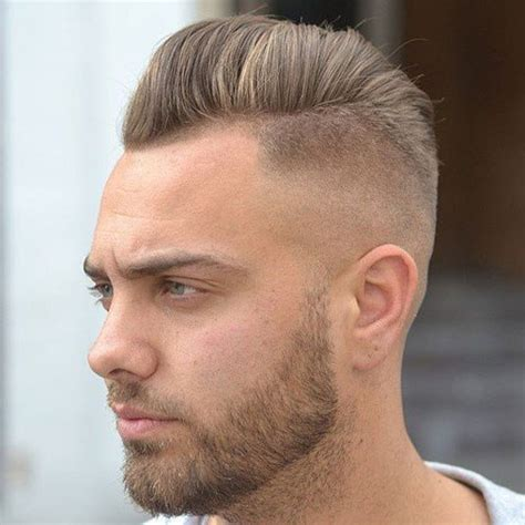 medium fade long top hair styles on fire latest men hairstyles 10 best skin fade bald fade haircut with beard atoz