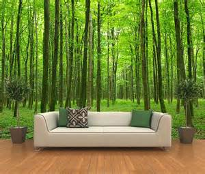adhesive wall mural self adhesive forest decorating wallpaper photo murals art 504