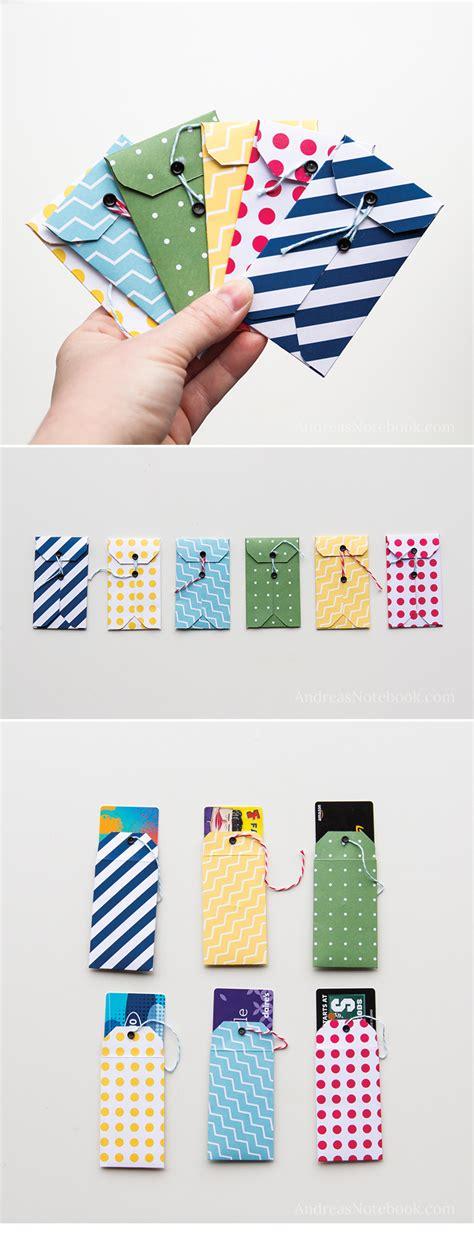 carding tutorial gift cards diy gift card envelopes tutorial