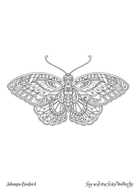 Ivy and the Inky Butterfly Book - Johanna Basford Johanna