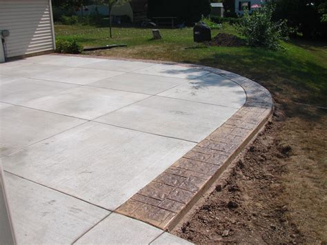 concrete brick edging milwaukee jbs construction
