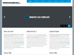 Wcsst 6 Free Website Template Free Css Templates Free Css Free Wedding Website Templates Html And Css