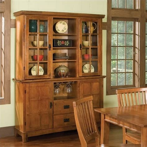 home styles furniture arts crafts dining buffet hutch cottage oak ebay