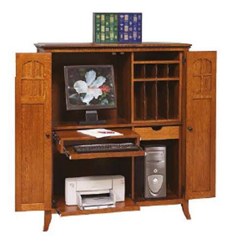amish mt eaton computer armoire desk home office spaces