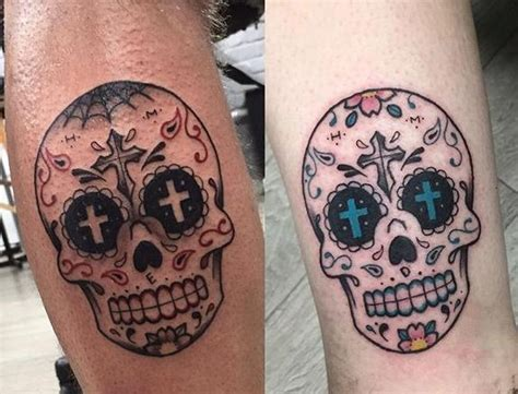 his and hers skull tattoos skull designs and meaning richmond shops